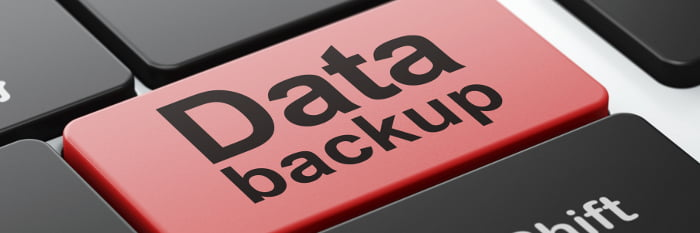 Encrypting data backups